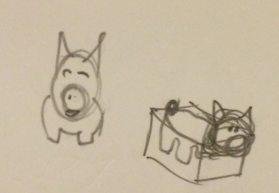 Truffle the book finding pig
